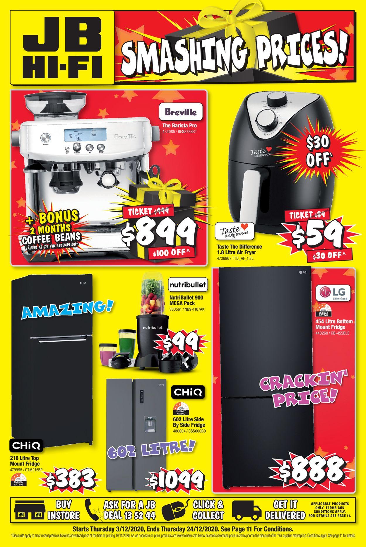 JB Hi-Fi - Christmas 2020 Catalogue - 03/12-24/12/2020