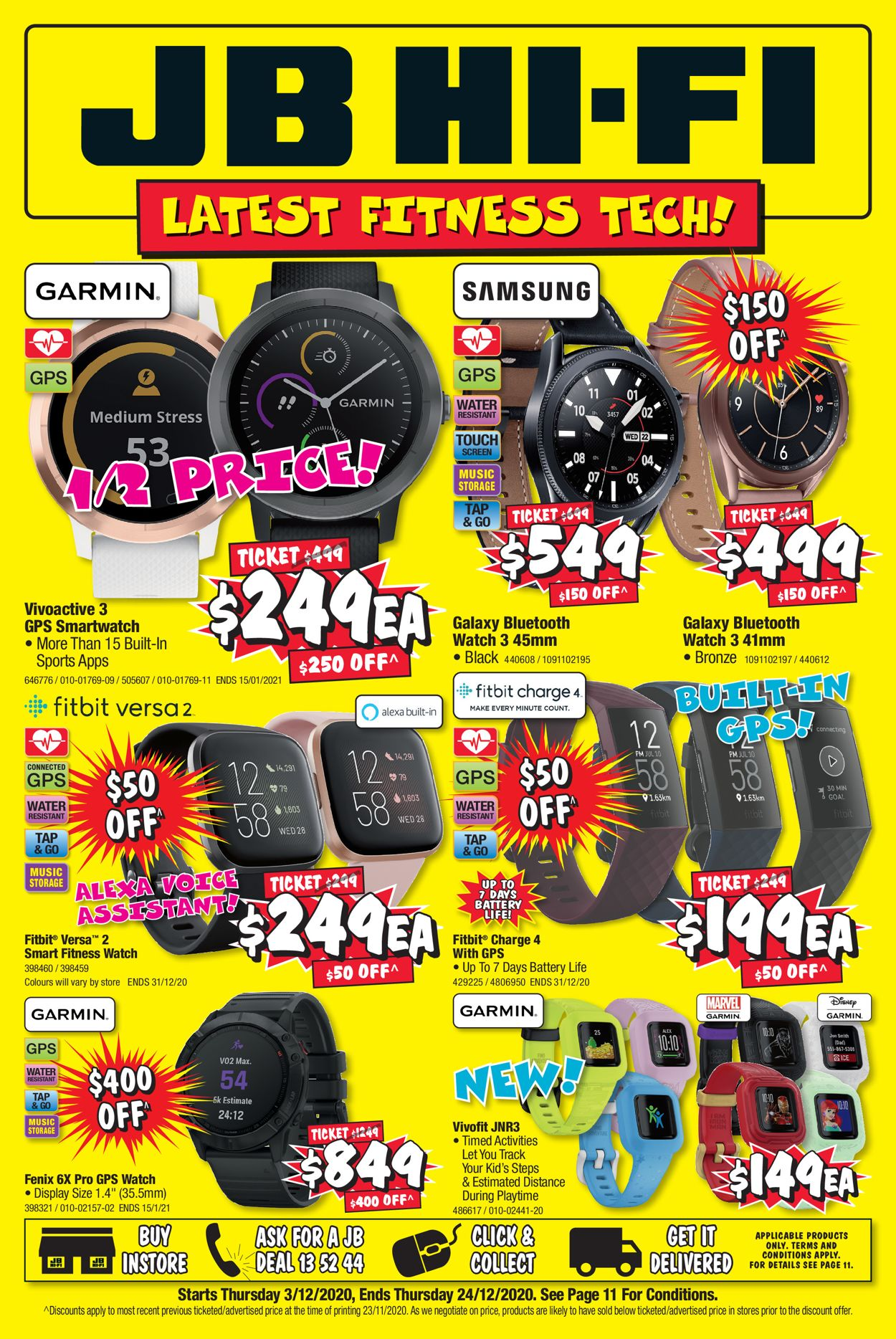 JB Hi-Fi Fitness Tech Catalogue - 03/12-24/12/2020