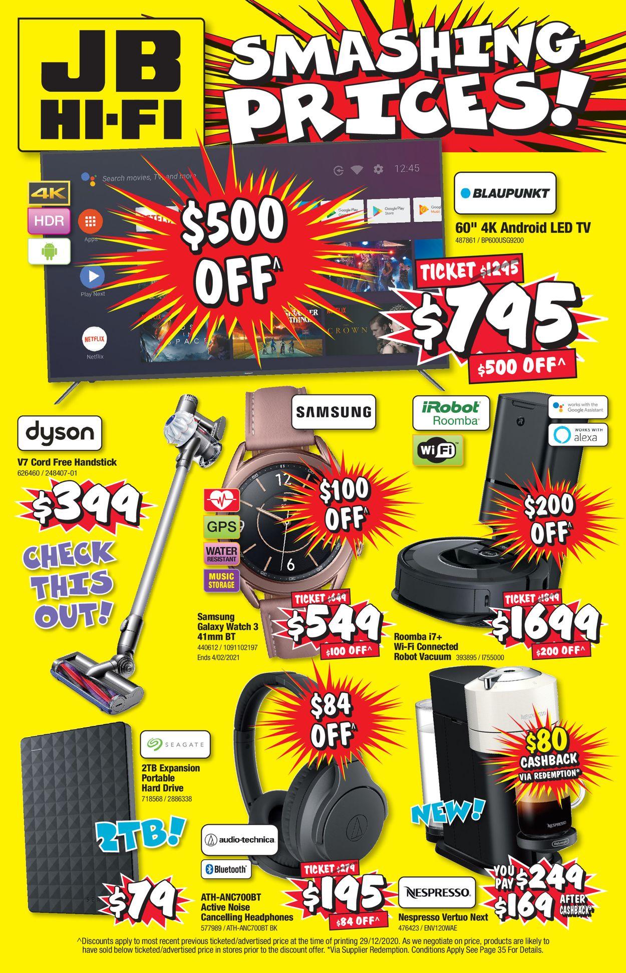 JB Hi-Fi - Back to School Catalogue - 14/01-27/01/2021 (Page 36)