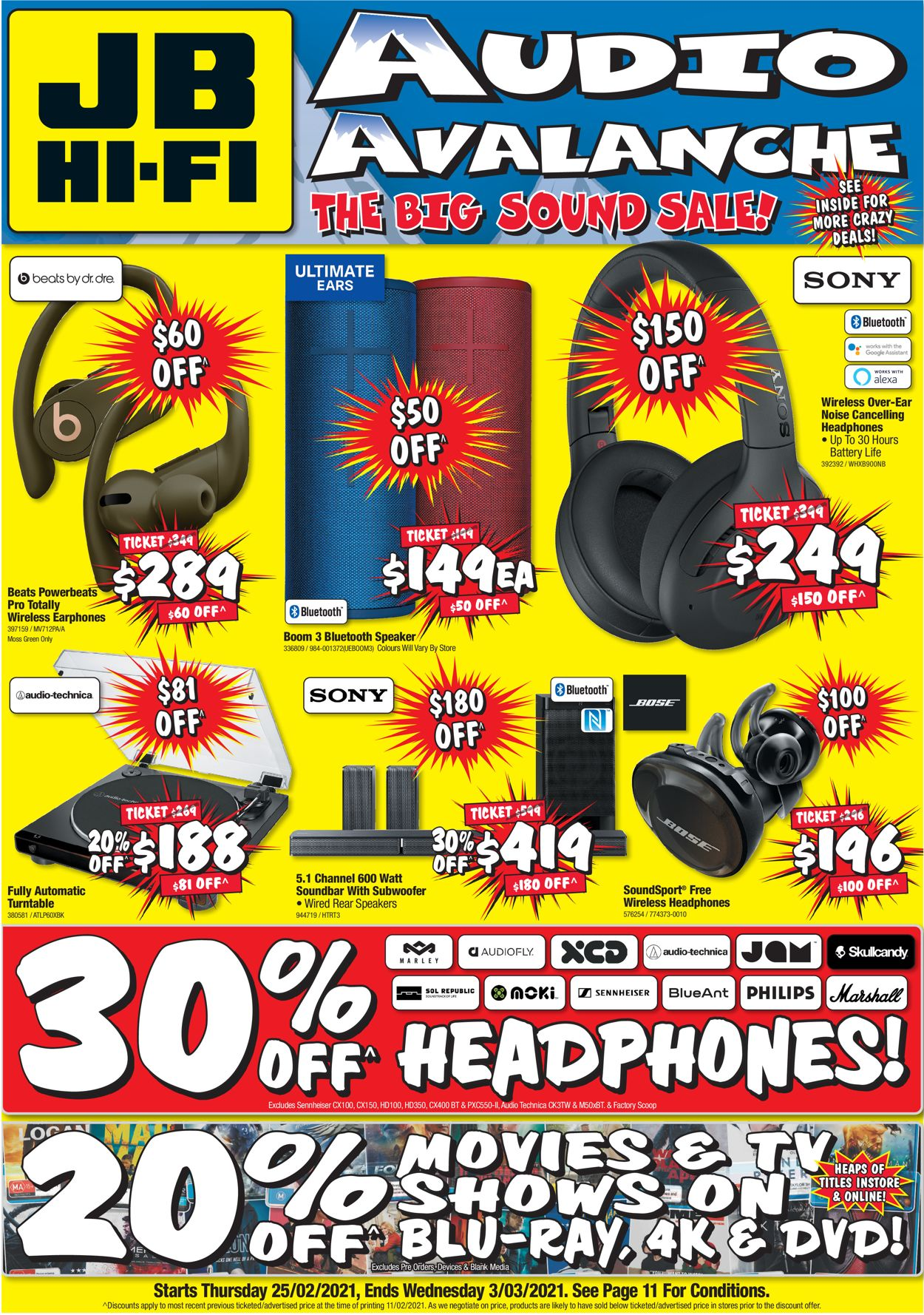 JB Hi-Fi Catalogue - 25/02-03/03/2021