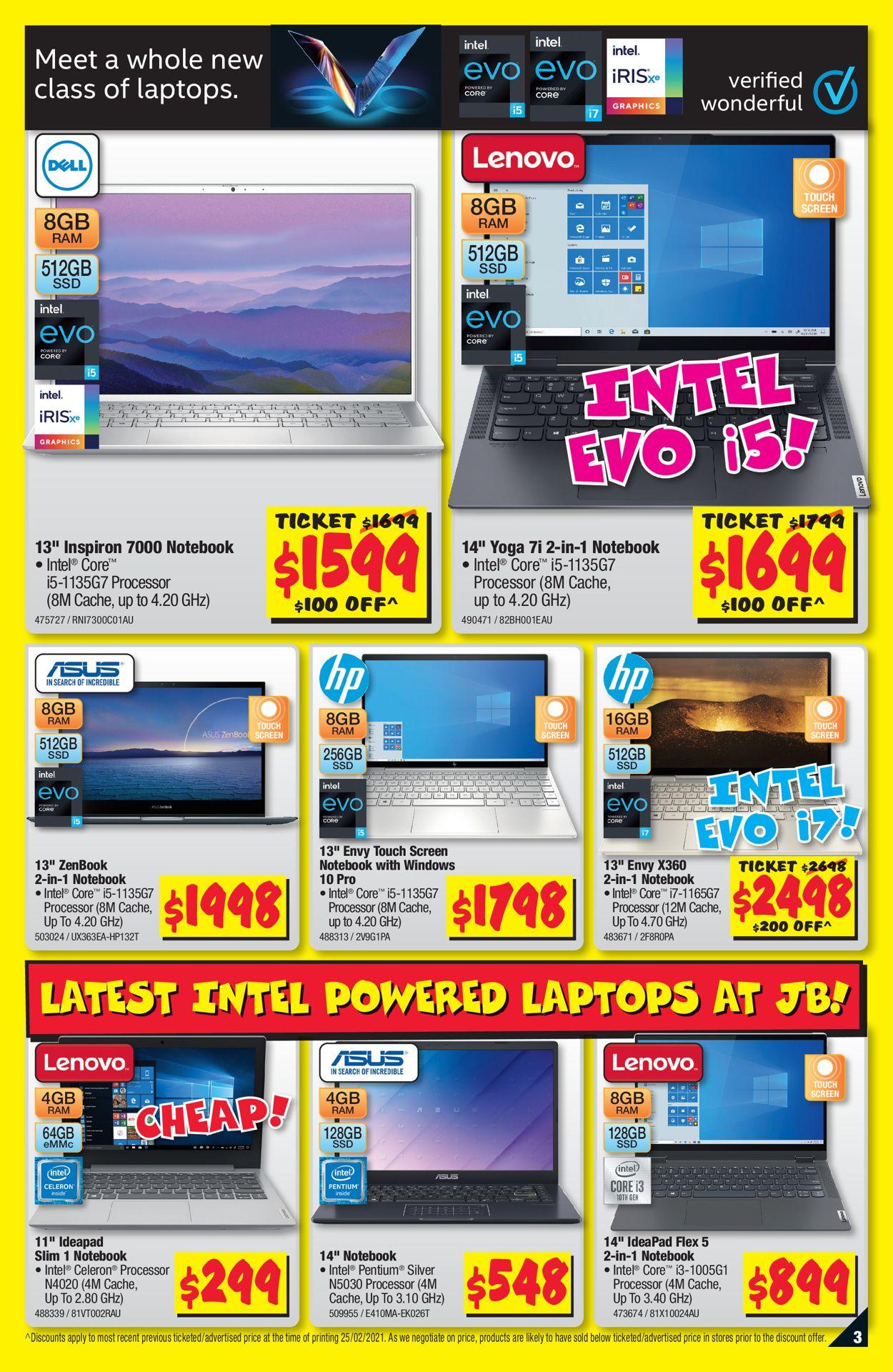 JB Hi-Fi Catalogue - 11/03-24/03/2021 (Page 3)