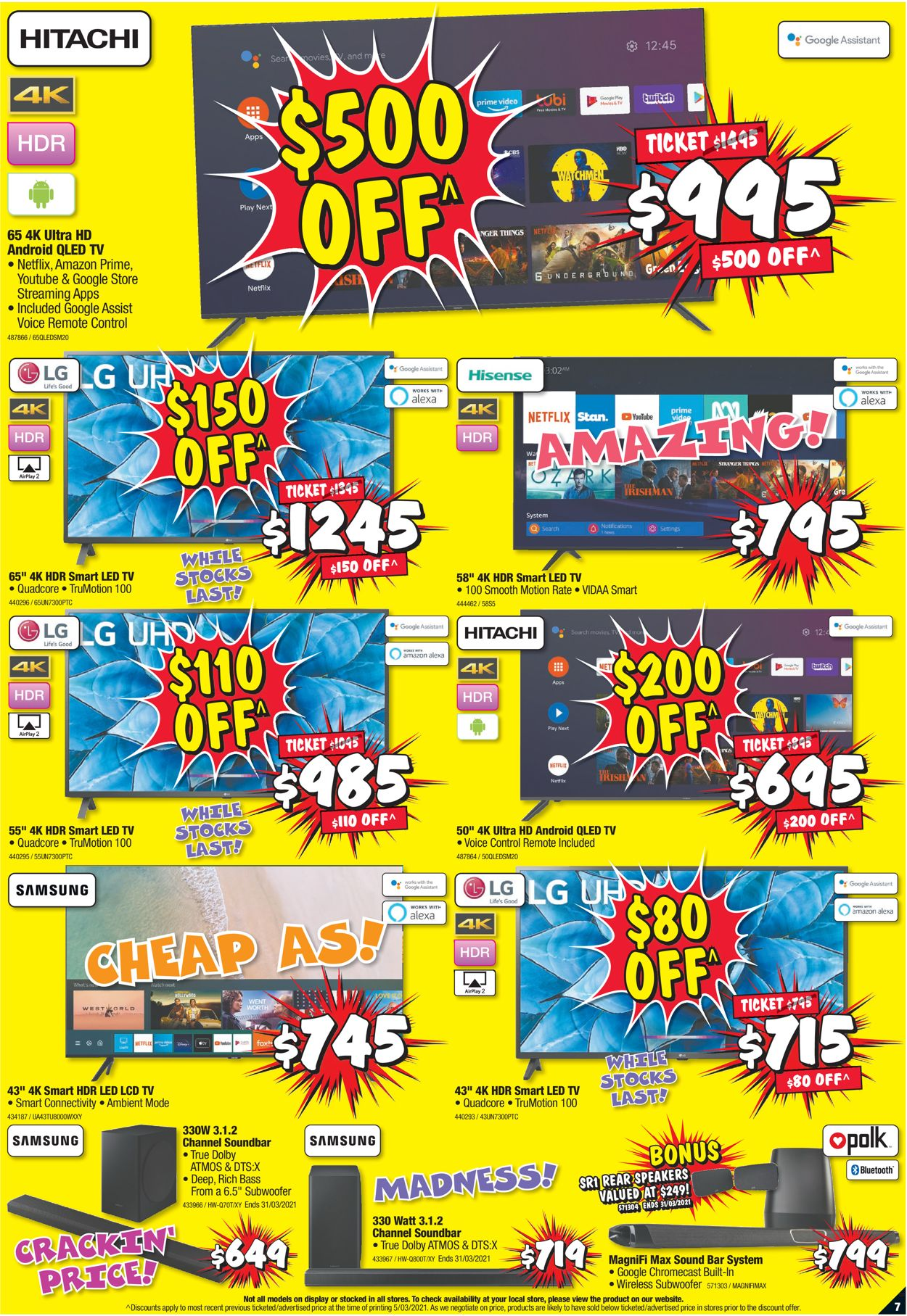 JB Hi-Fi Catalogue - 18/03-24/03/2021 (Page 7)