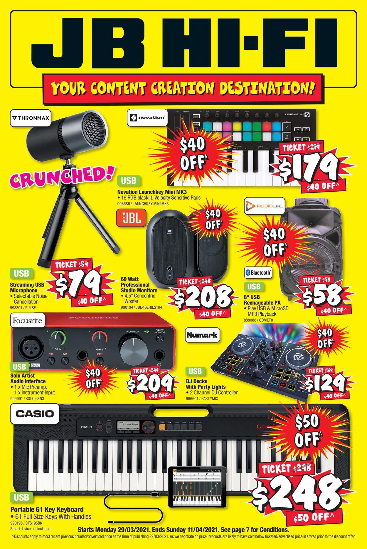 JB Hi-Fi Catalogue - 29/03-11/04/2021