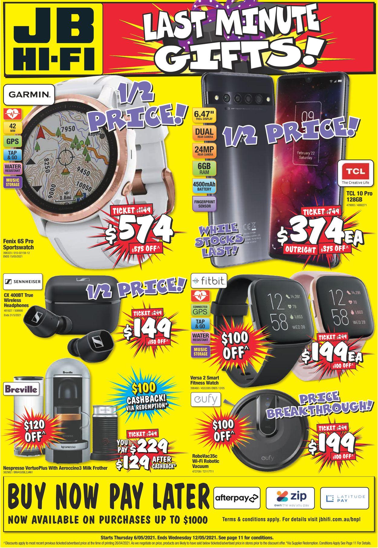 JB Hi-Fi Catalogue - 06/05-12/05/2021