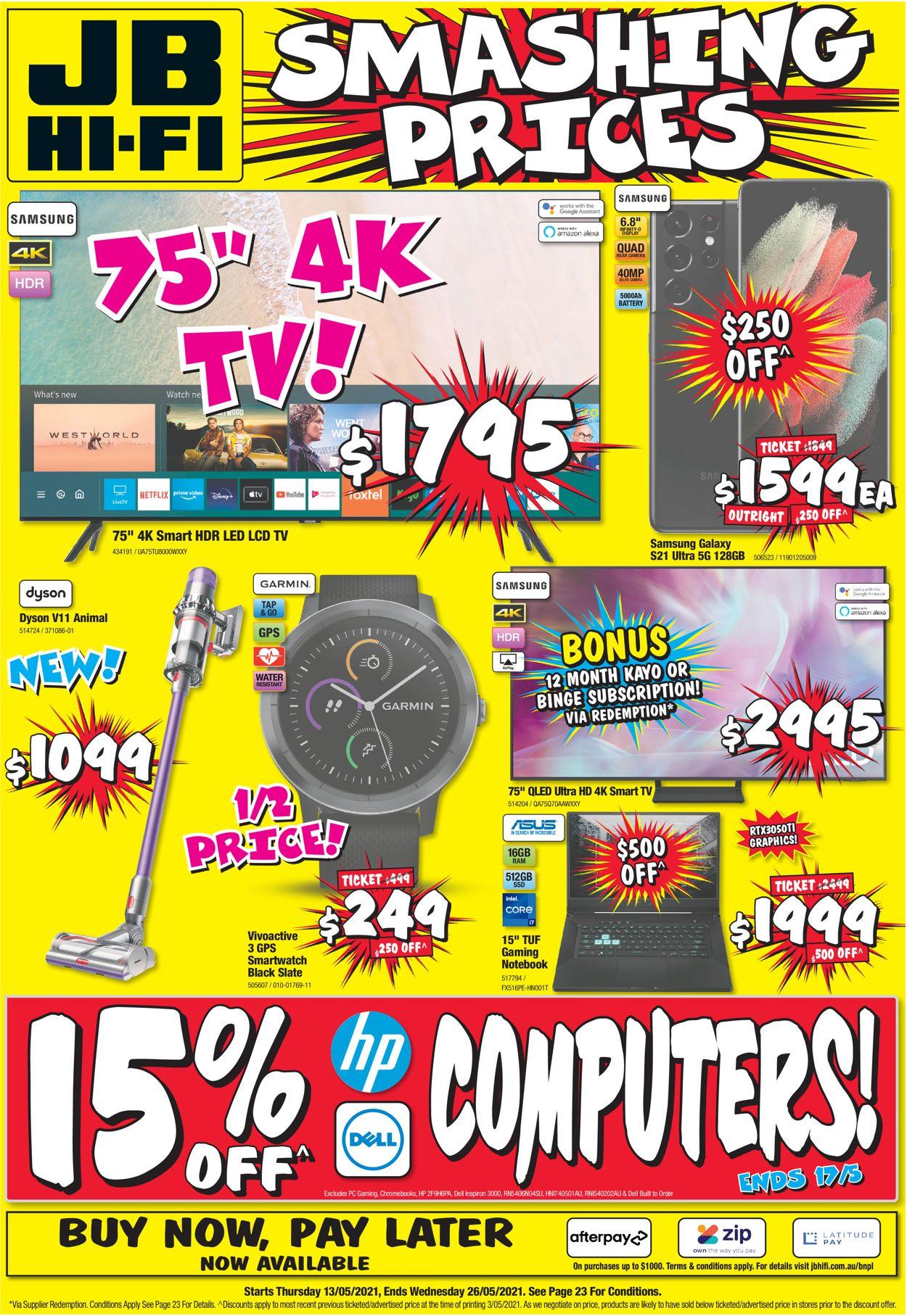 JB Hi-Fi Catalogue - 13/05-26/05/2021