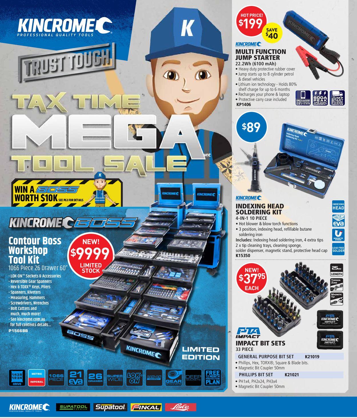 Kincrome Catalogue - 01/05-30/06/2020