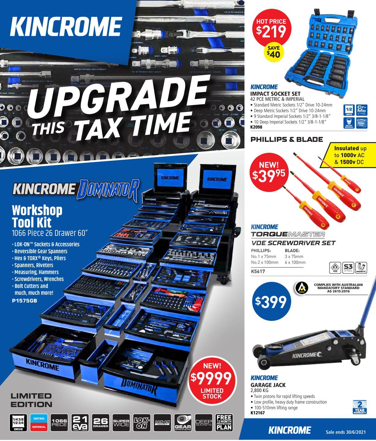 Kincrome Catalogue - 01/05-30/06/2021