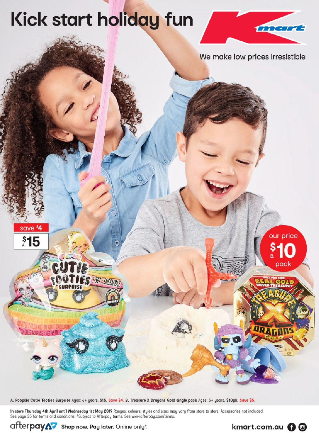 Kmart Catalogue - 04/04-01/05/2019