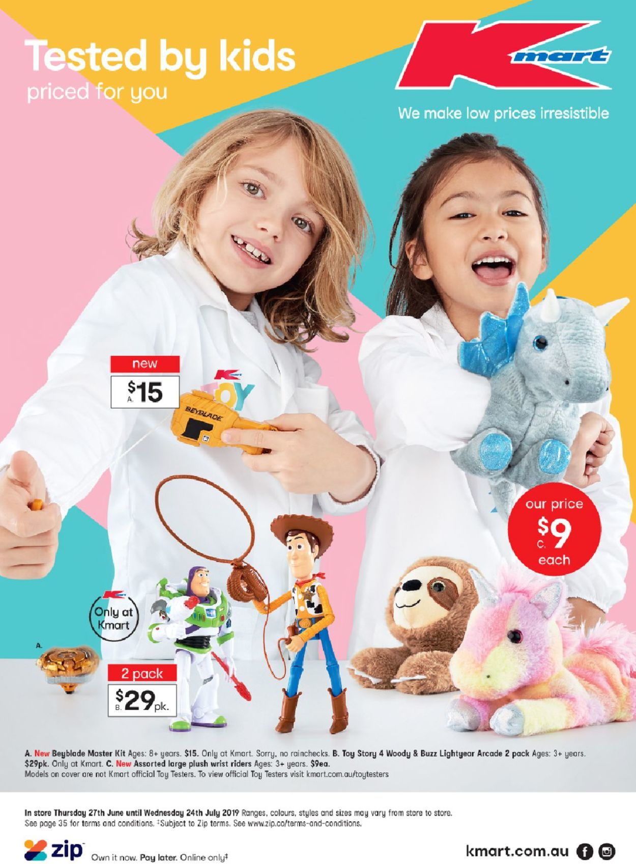Kmart Catalogue - 27/06-24/07/2019