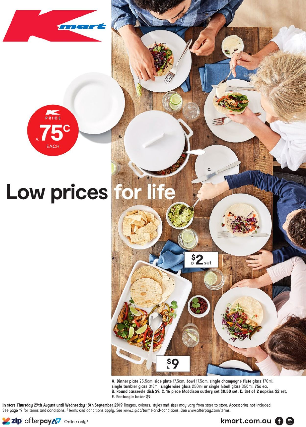 Kmart Catalogue - 29/08-18/09/2019