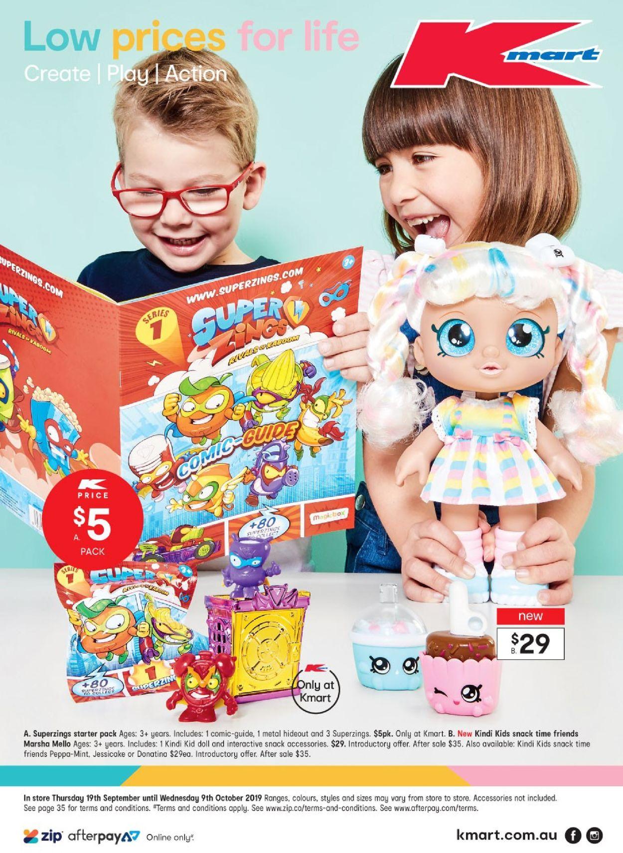 Kmart Catalogue - 19/09-09/10/2019