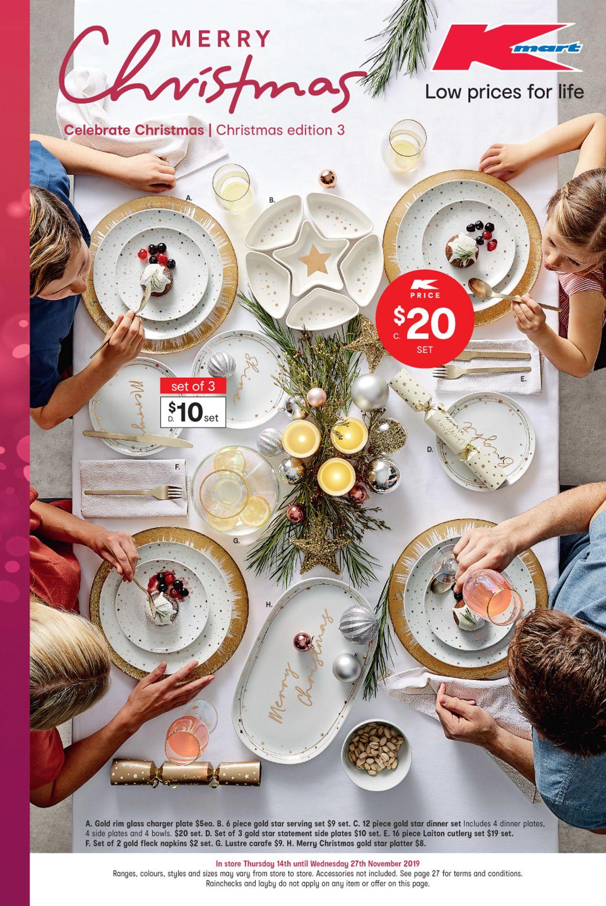 Kmart Christmas Catalogue - 2019 Catalogue - 14/11-27/11/2019