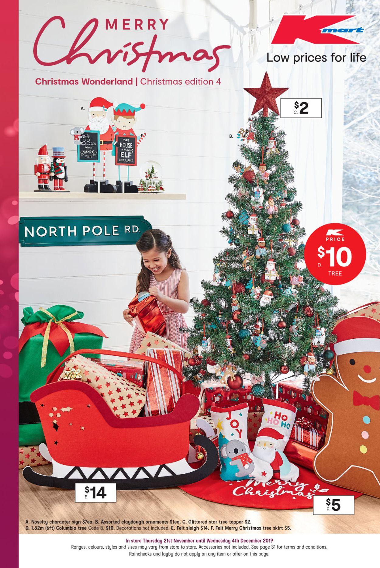 Kmart Christmas Catalogue - 2019 Catalogue - 21/11-04/12/2019