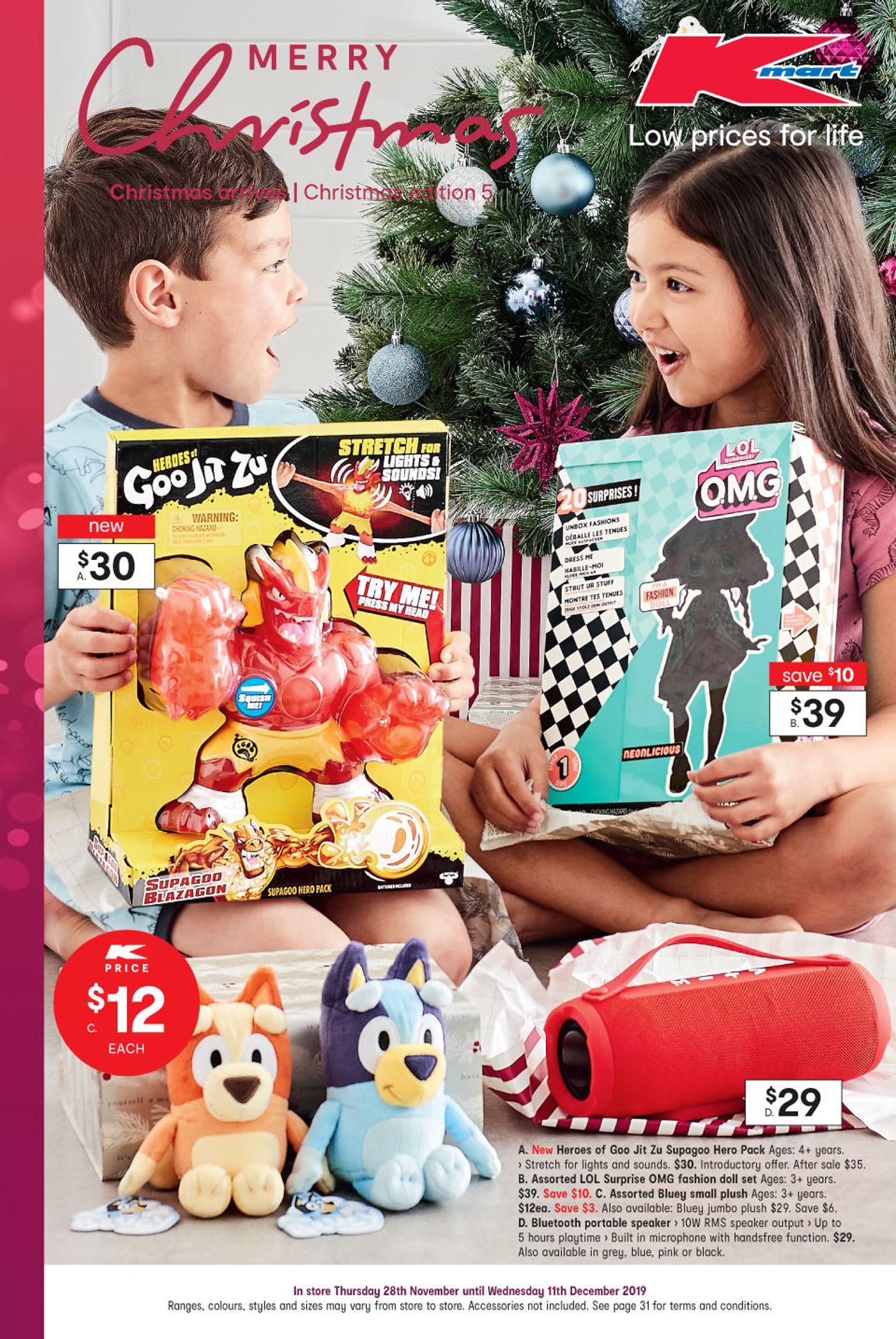 Kmart Christmas Catalogue - 2019 Catalogue - 28/11-11/12/2019