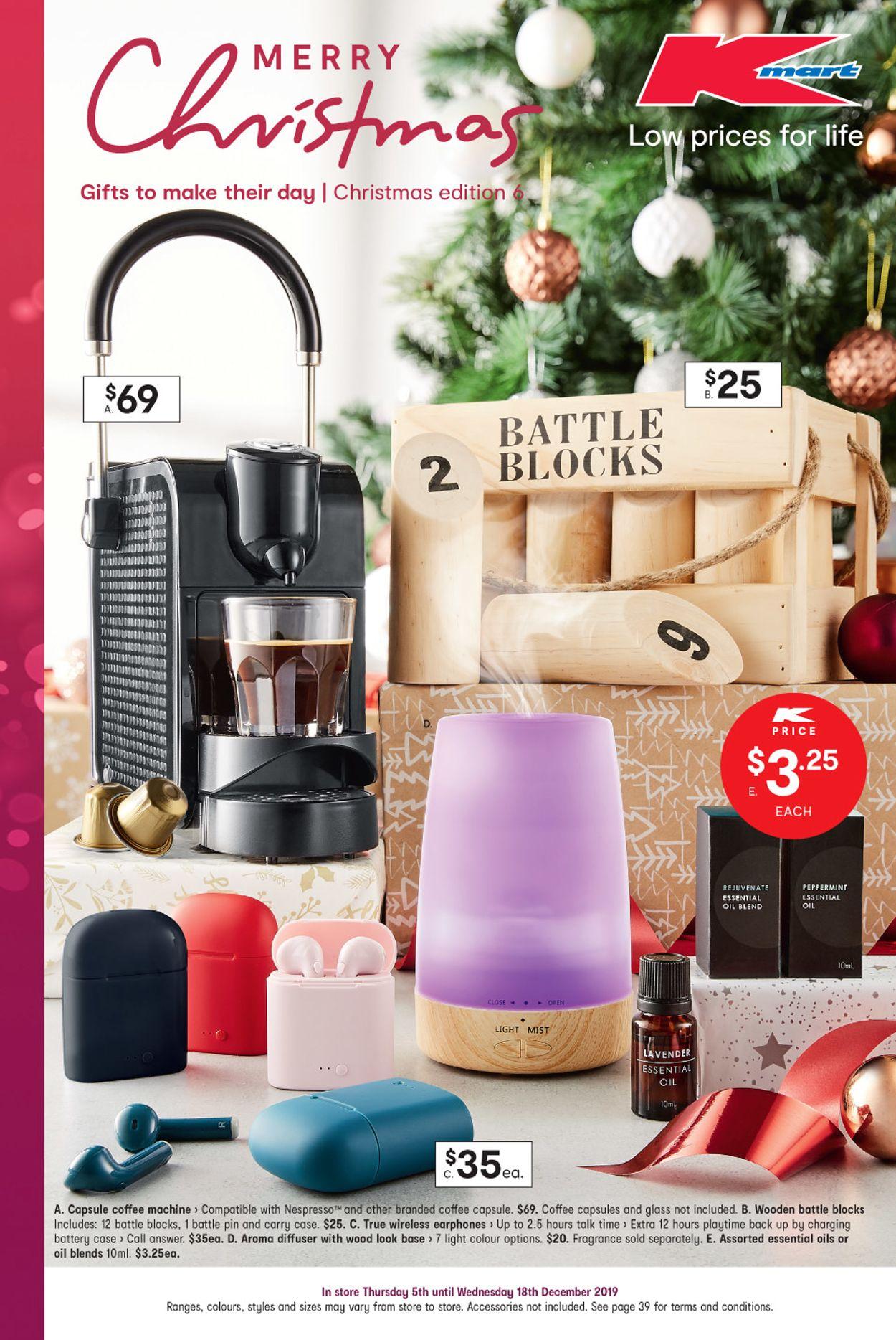 Kmart Christmas Catalogue 2019 Catalogue - 05/12-18/12/2019