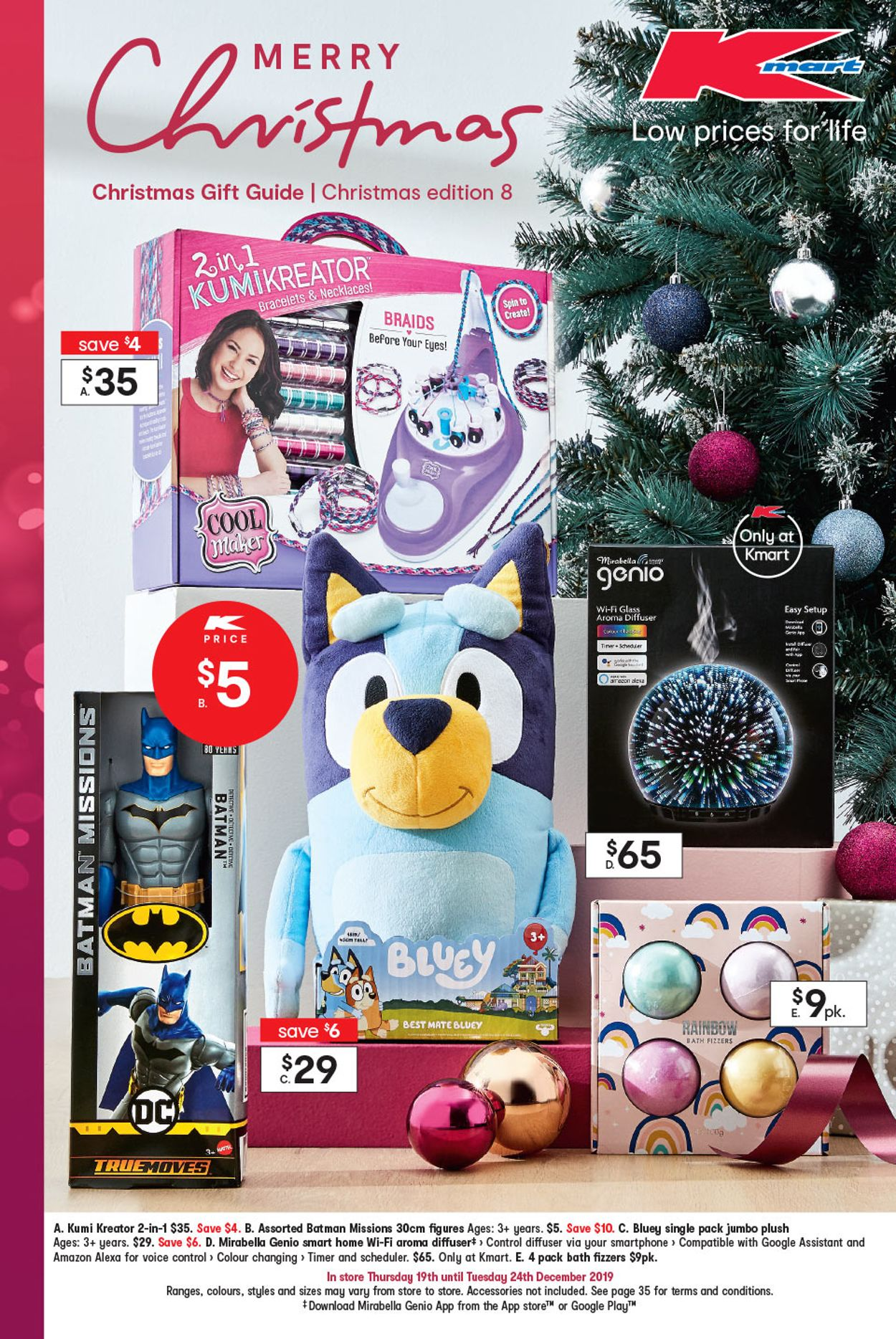 Kmart Christmas Catalogue - 2019 Catalogue - 19/12-24/12/2019