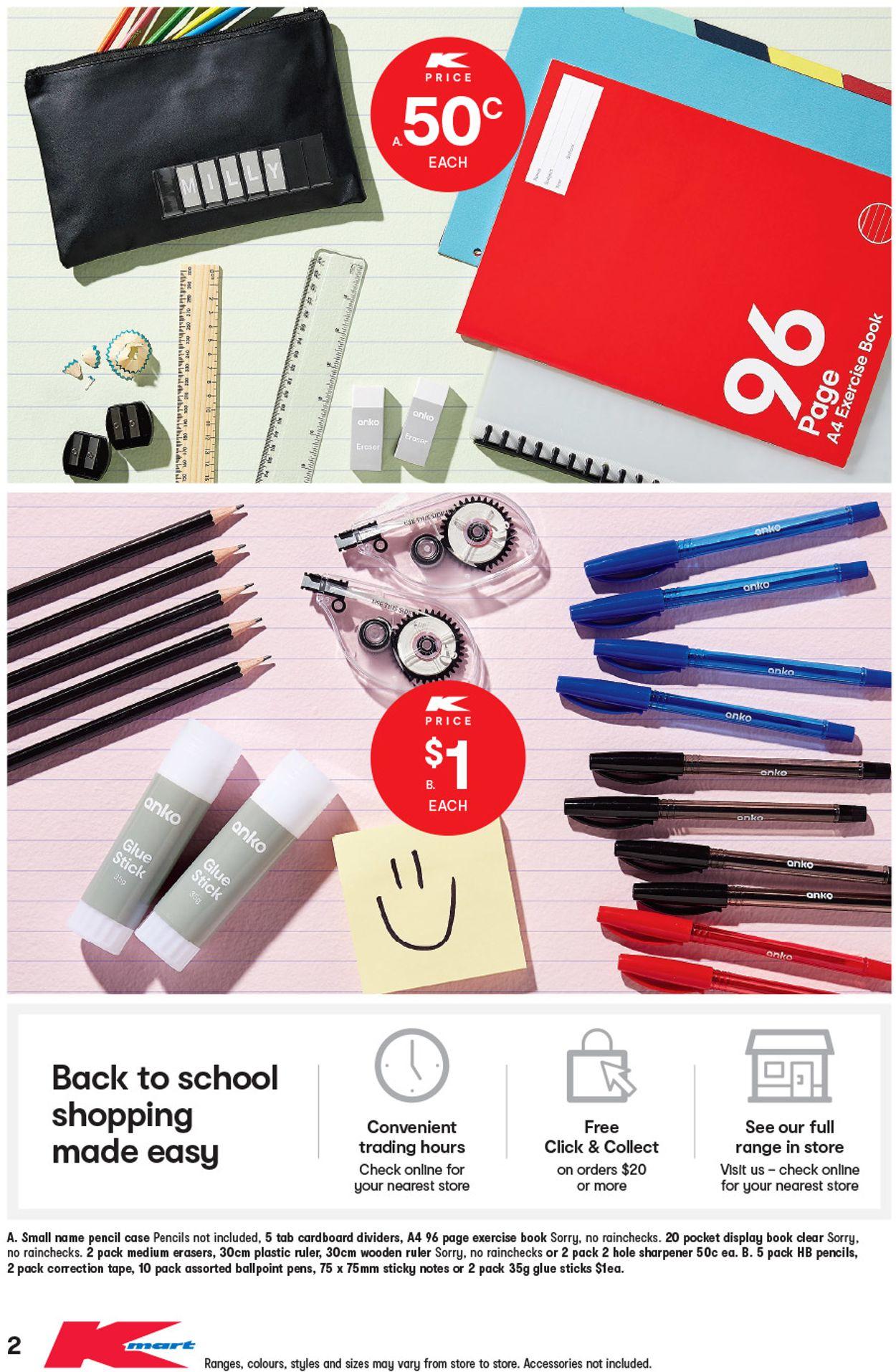 Kmart Catalogue - 09/01-05/02/2020 (Page 2)