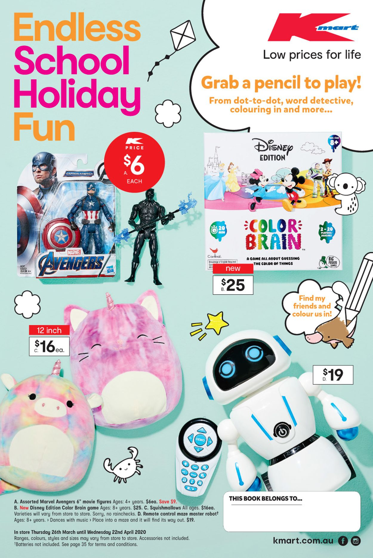 Kmart Catalogue - 26/03-22/04/2020