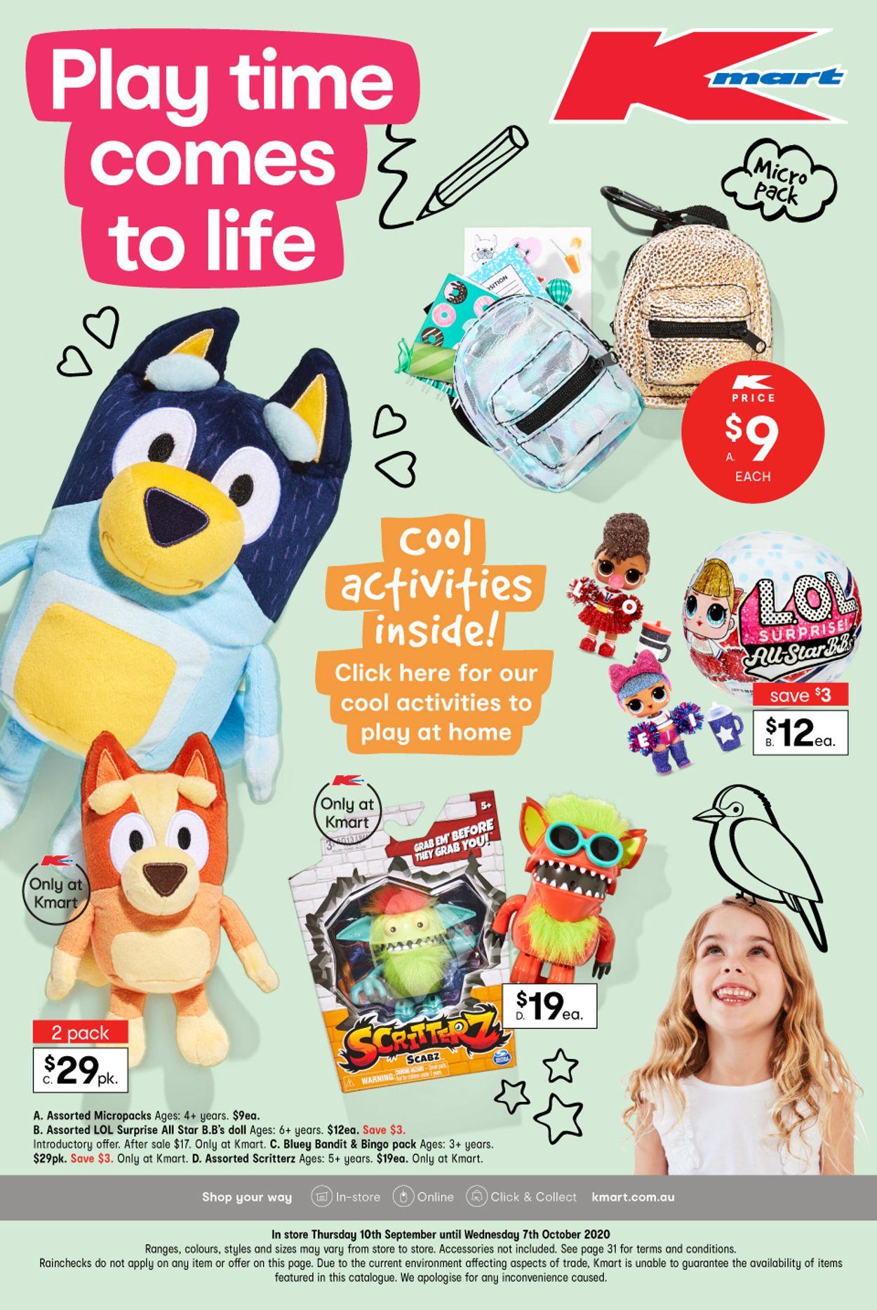Kmart Catalogue - 10/09-07/10/2020