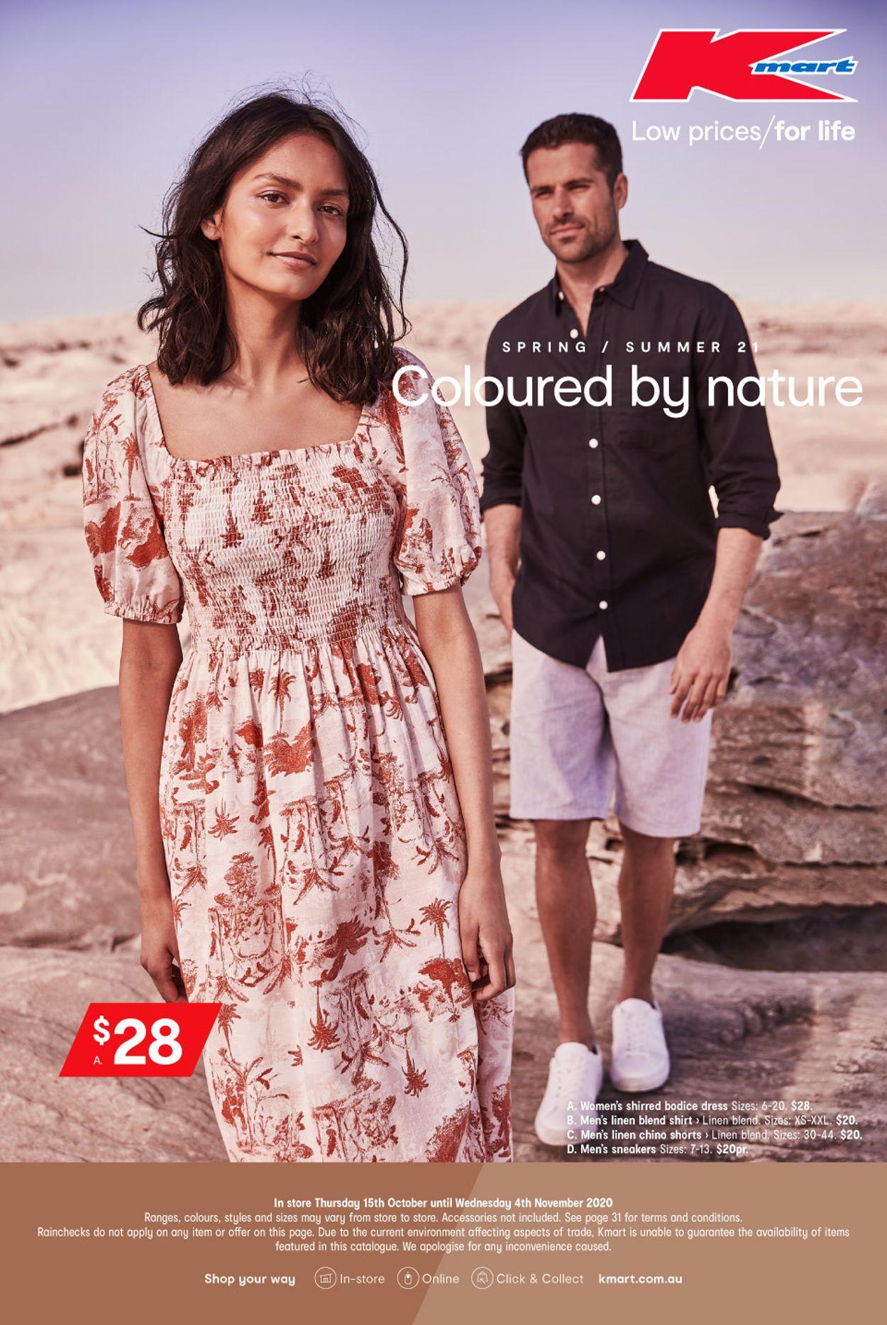 Kmart Catalogue - 15/10-04/11/2020