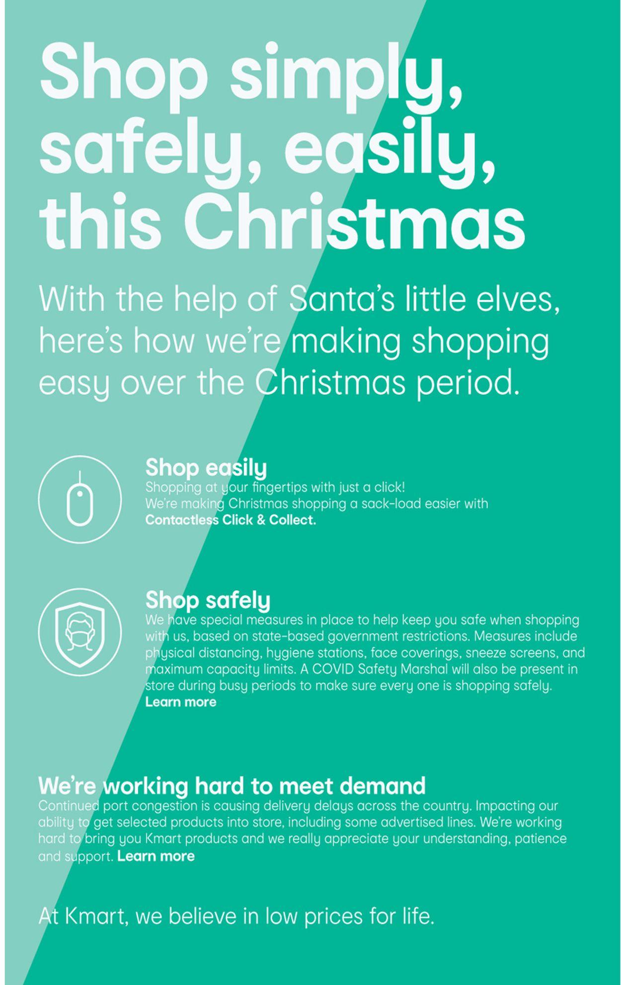 Kmart Christmas 2020 Catalogue - 29/10-11/11/2020