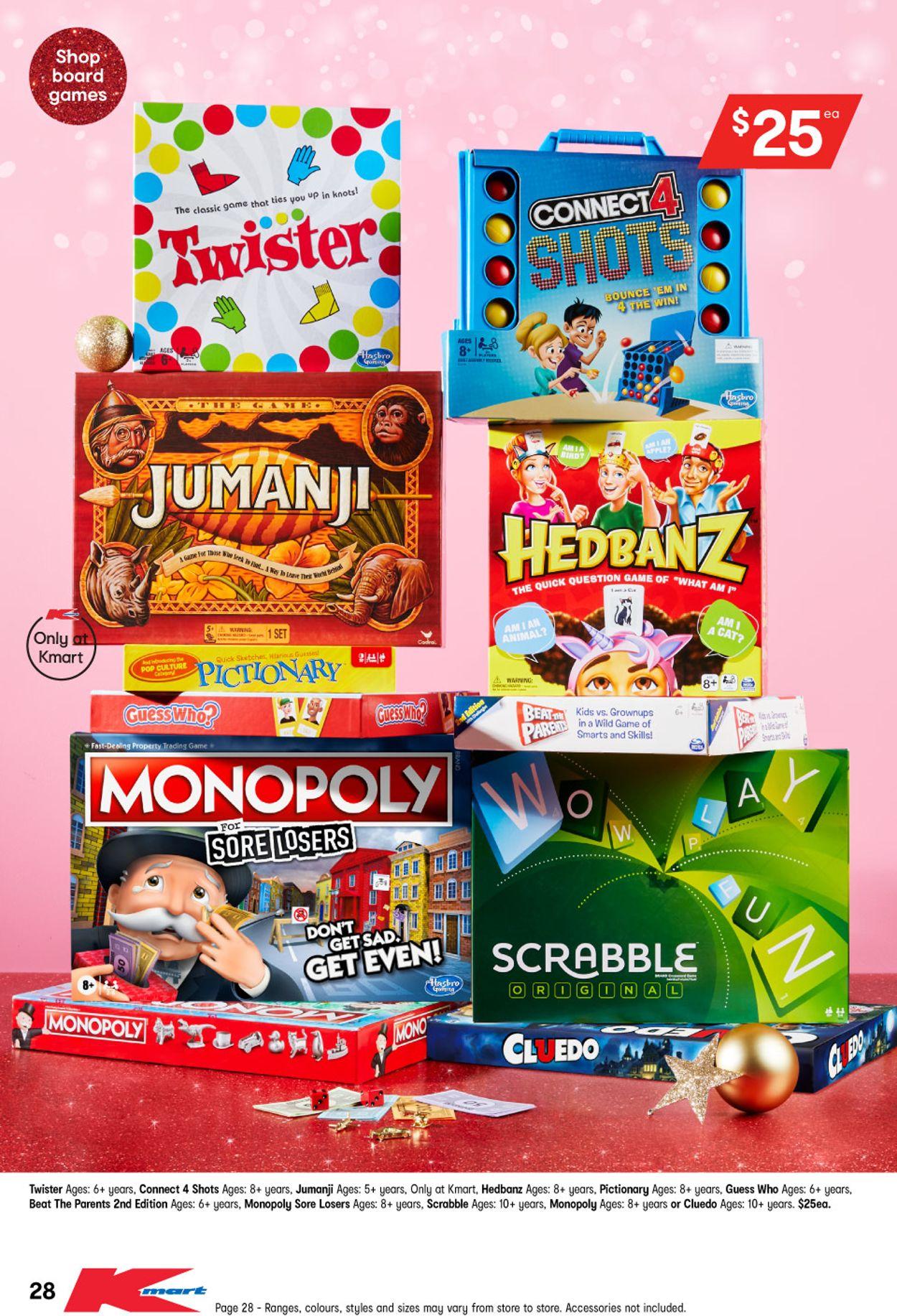 Kmart Christmas 2020 Catalogue - 29/10-11/11/2020 (Page 29)