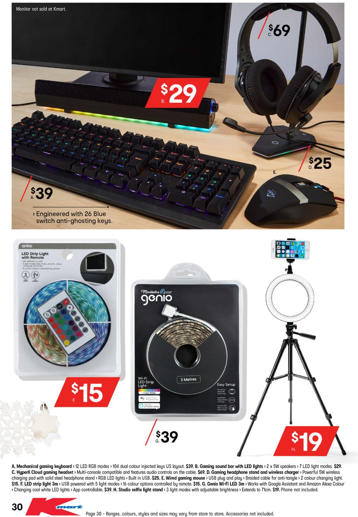 Kmart Christmas 2020 Catalogue - 29/10-11/11/2020 (Page 31)