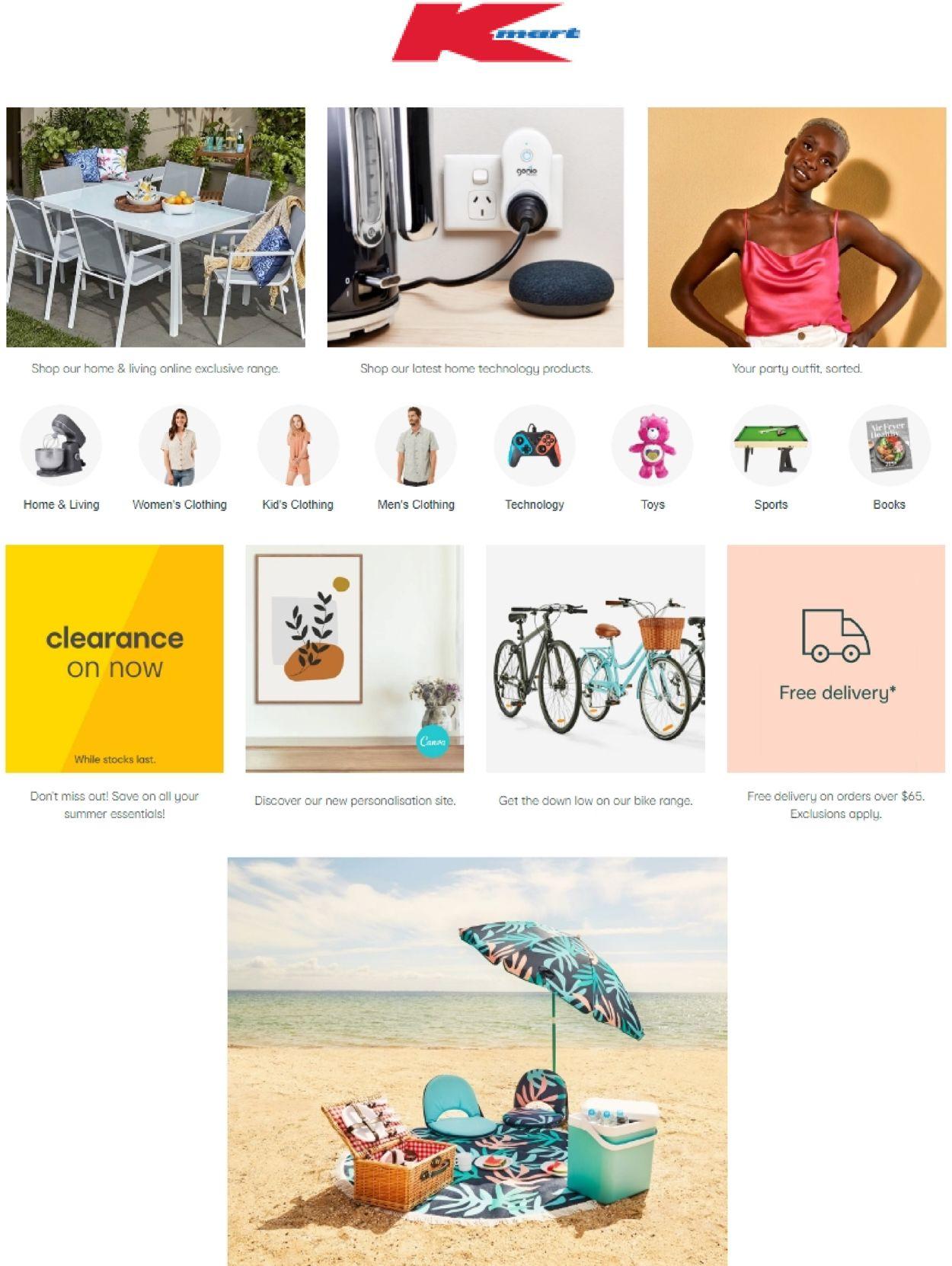 Kmart Catalogue - 01/01-07/01/2021
