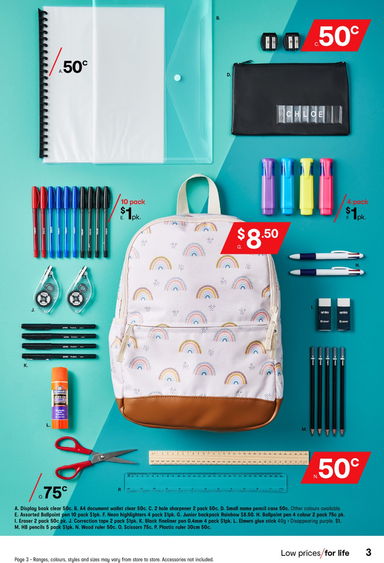 Kmart - Back to School Catalogue - 14/01-29/01/2021 (Page 3)