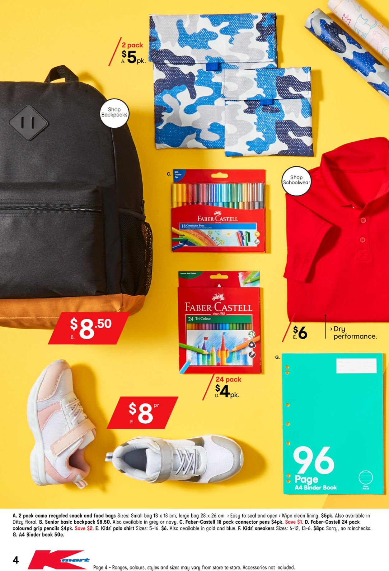 Kmart - Back to School Catalogue - 14/01-29/01/2021 (Page 4)
