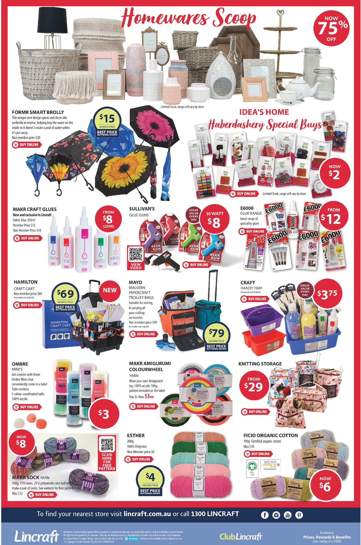 Lincraft Catalogue - 04/06-21/06/2020 (Page 2)
