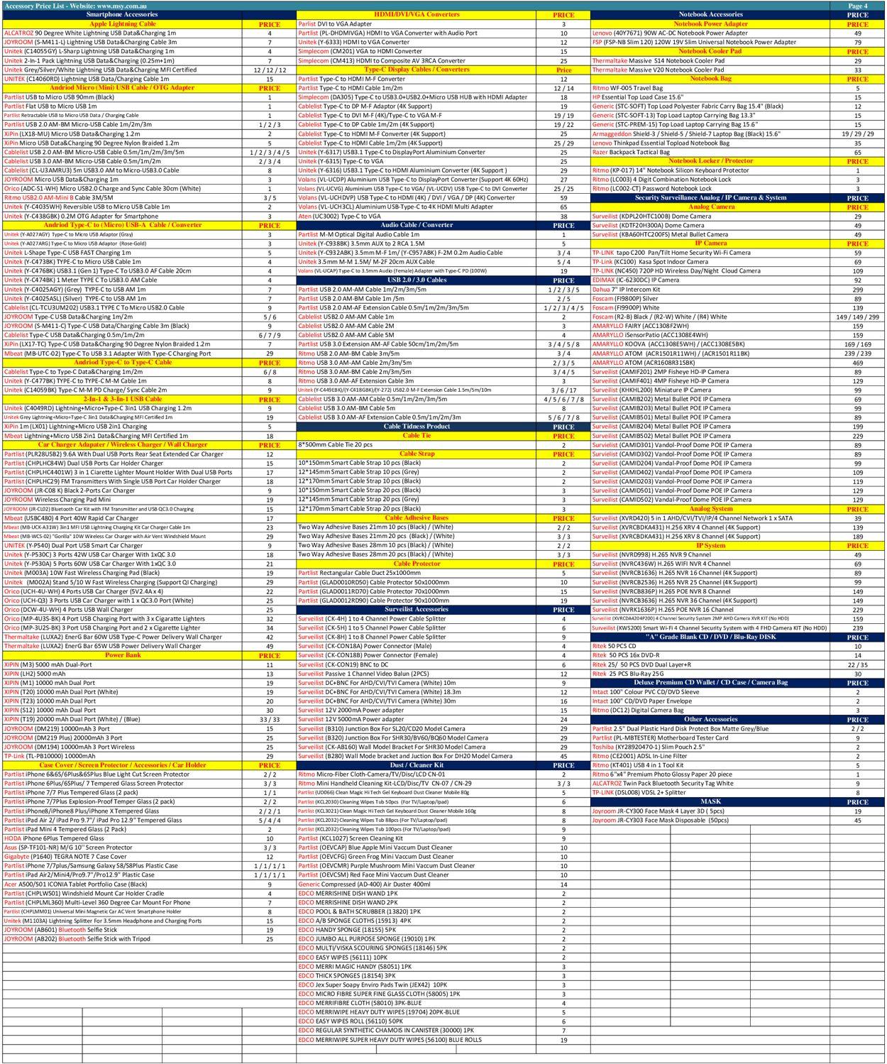 MSY Technology Catalogue - 17/09-17/09/2020 (Page 4)