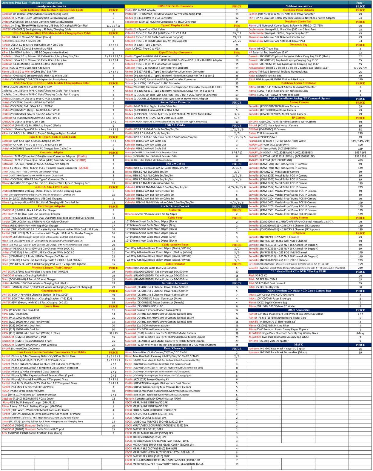 MSY Technology Catalogue - 02/12-02/12/2020 (Page 4)