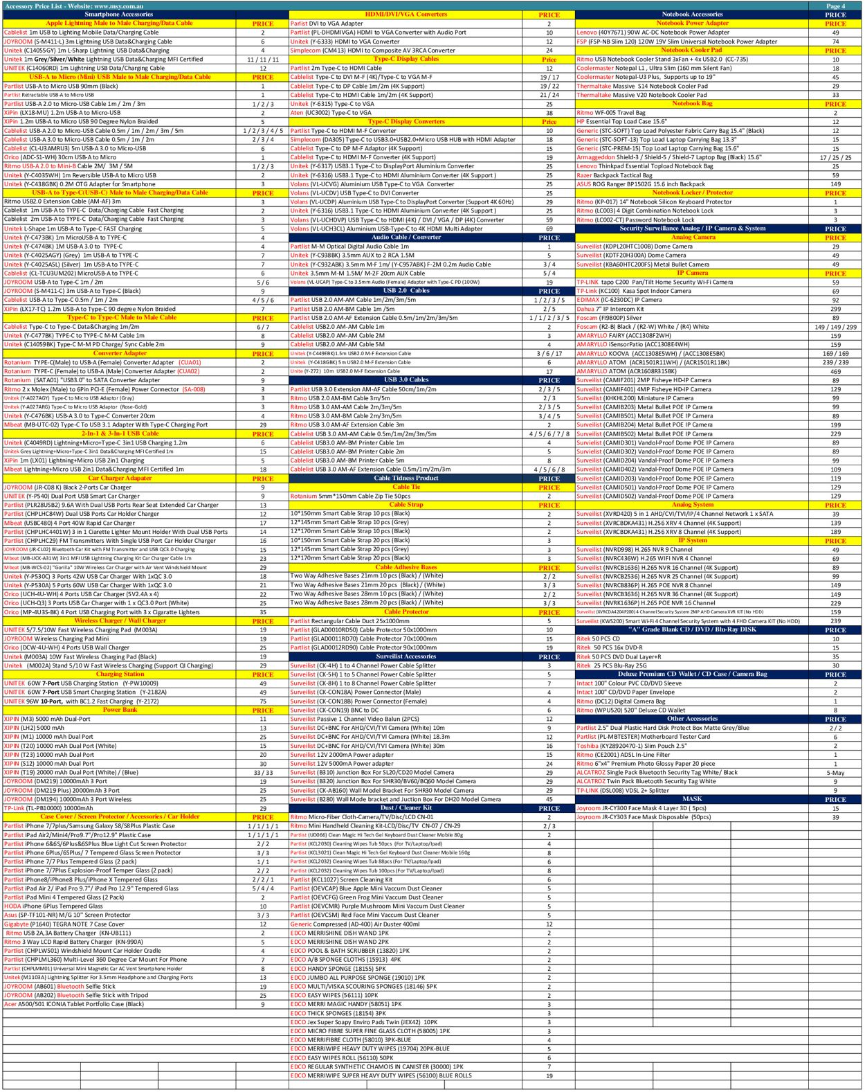 MSY Technology Catalogue - 07/12-07/12/2020 (Page 4)