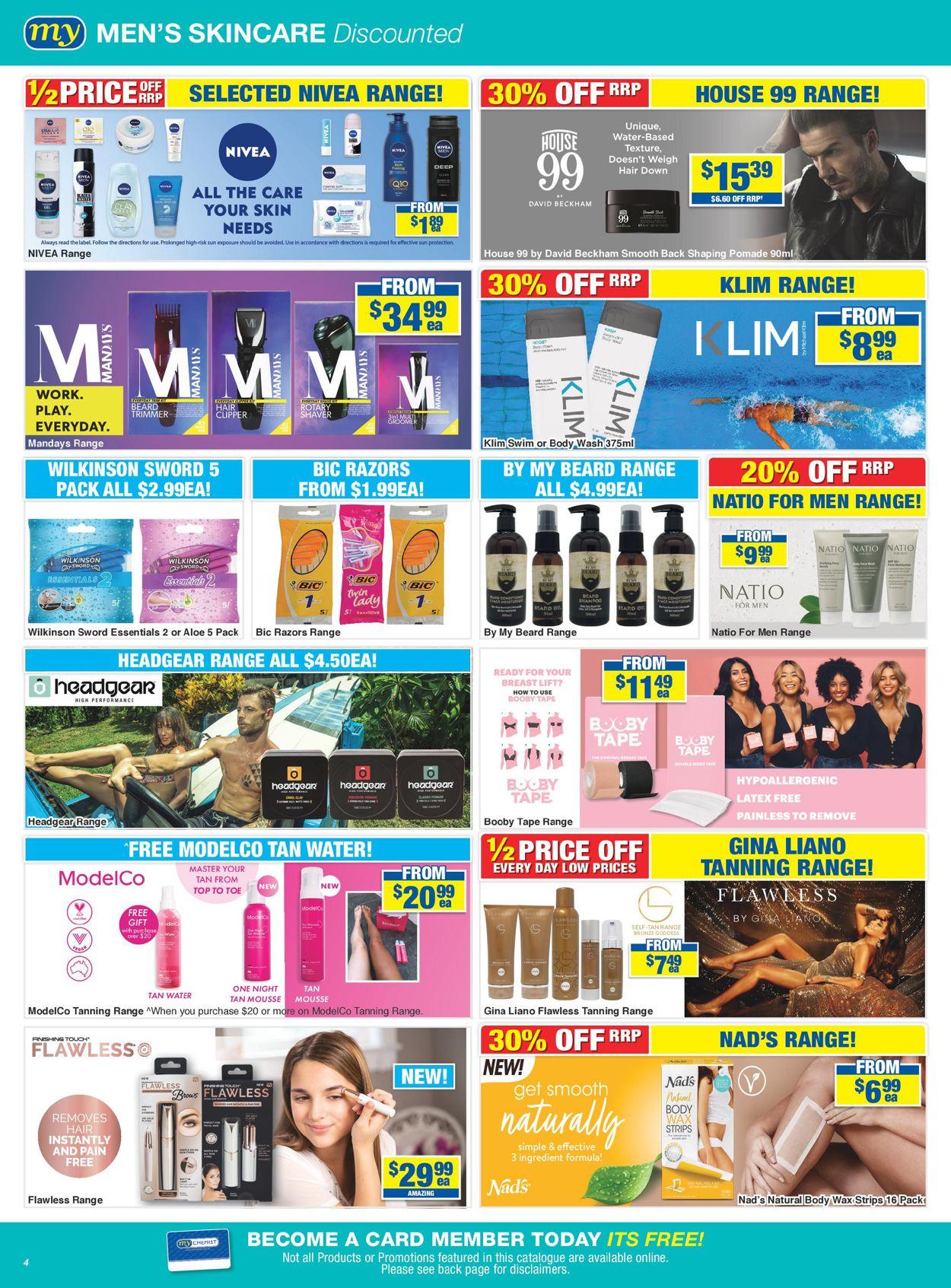 My Chemist Catalogue - 03/07-26/07/2020 (Page 4)