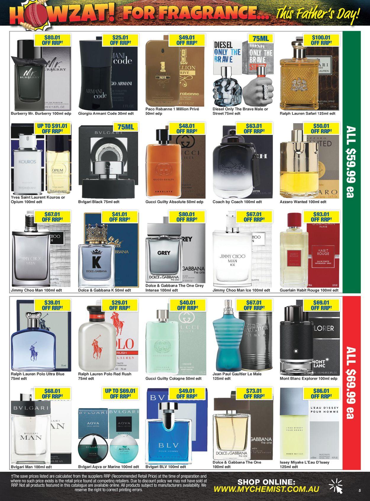 My Chemist Catalogue - 14/08-06/09/2020 (Page 5)