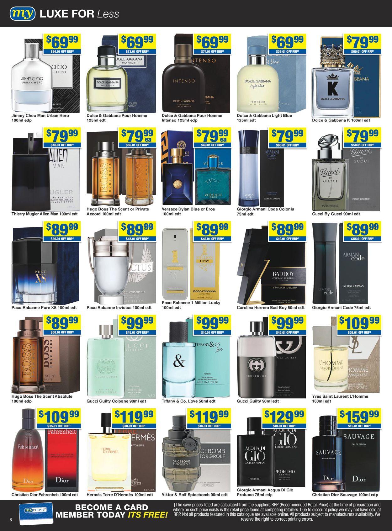 My Chemist Catalogue - 14/08-06/09/2020 (Page 6)