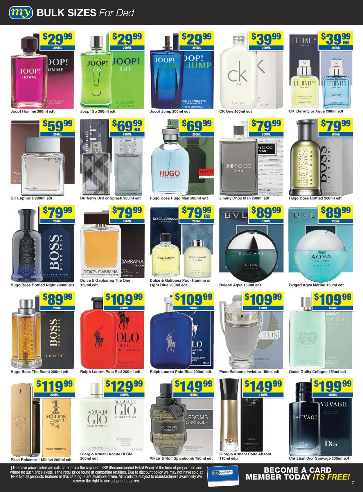 My Chemist Catalogue - 14/08-06/09/2020 (Page 7)
