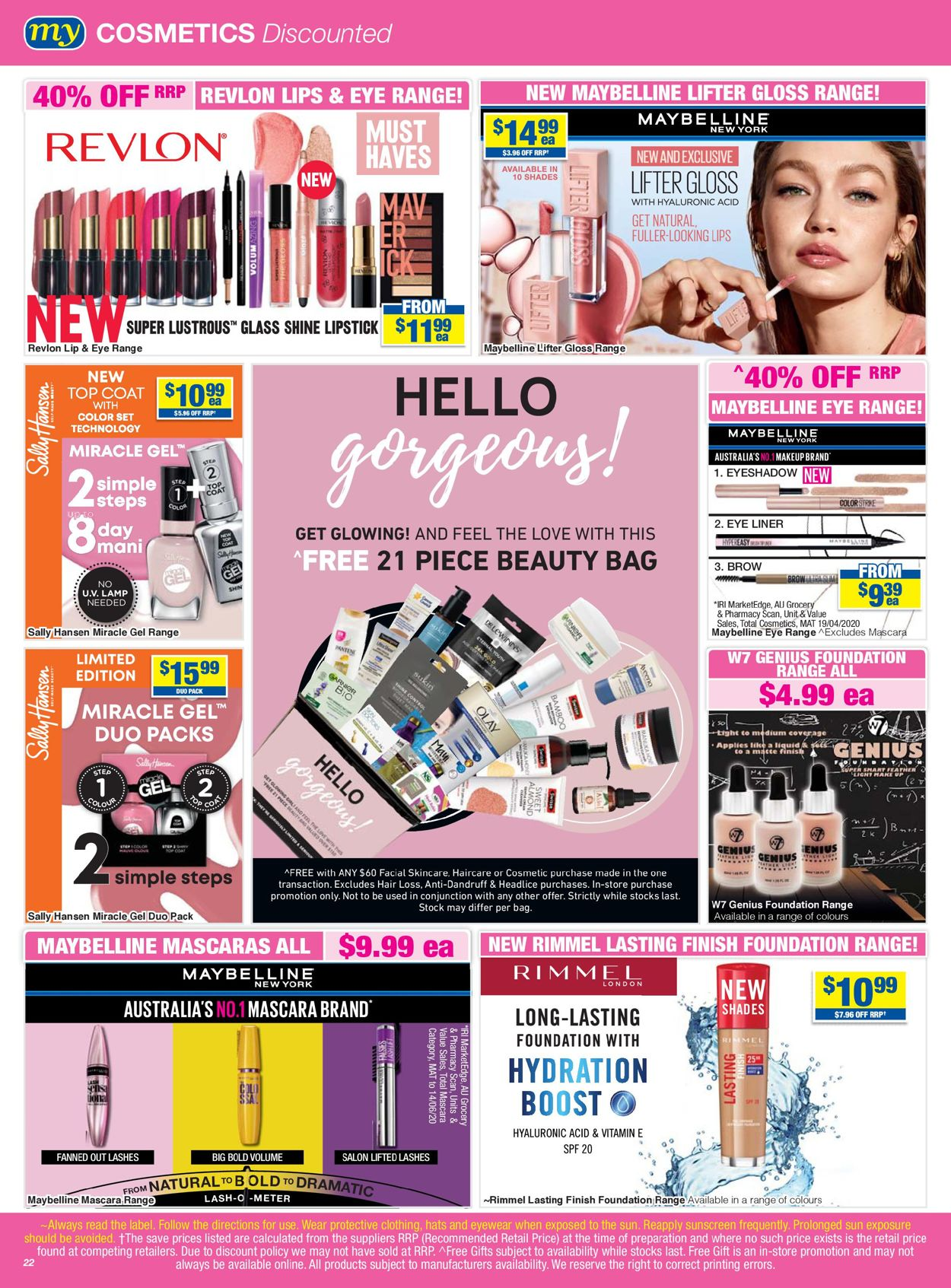 My Chemist Catalogue - 02/10-25/10/2020 (Page 22)