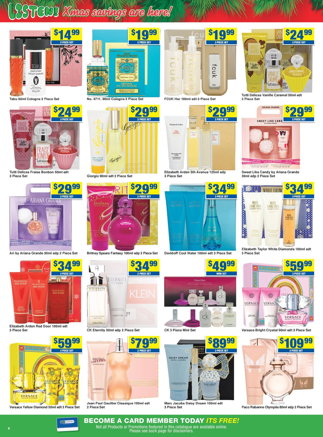 My Chemist - Christmas 2020 Catalogue - 30/11-24/12/2020 (Page 6)