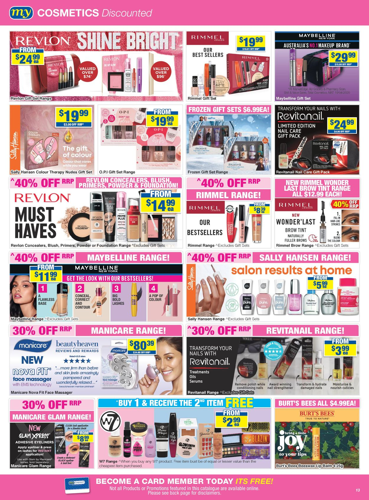 My Chemist - Christmas 2020 Catalogue - 30/11-24/12/2020 (Page 13)