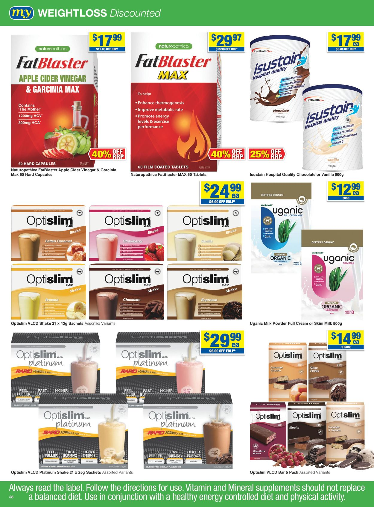 My Chemist - Christmas 2020 Catalogue - 30/11-24/12/2020 (Page 36)
