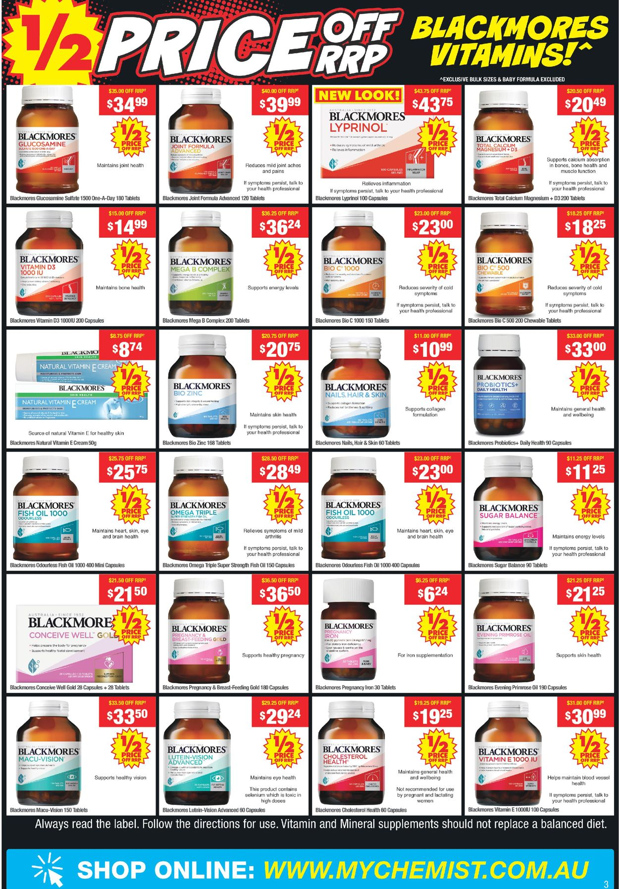 My Chemist - Boxing Day 2020 Catalogue - 26/12-31/12/2020 (Page 3)