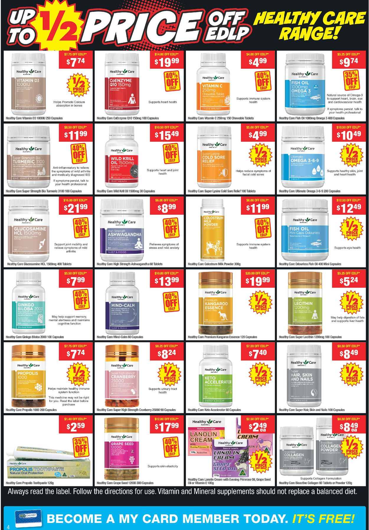 My Chemist - Boxing Day 2020 Catalogue - 26/12-31/12/2020 (Page 4)