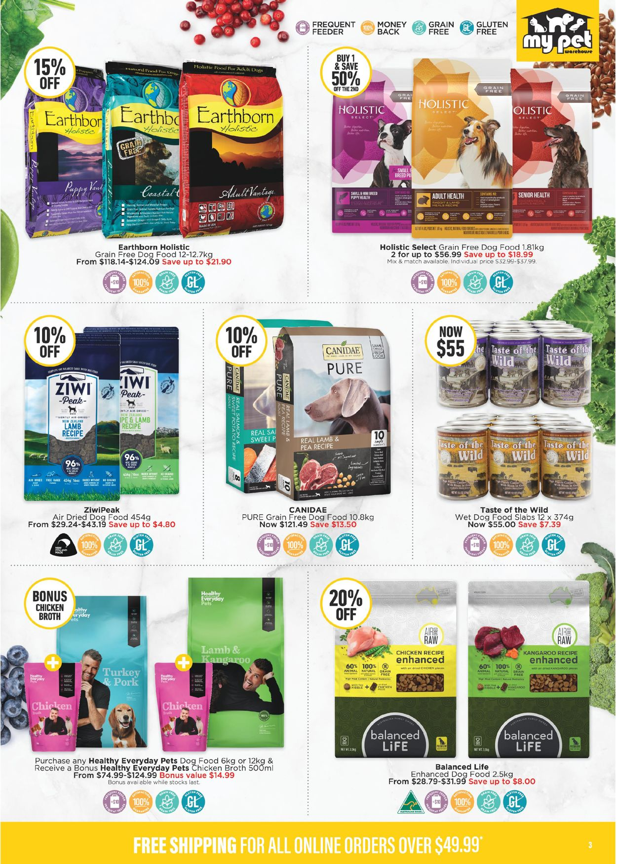 My Pet Warehouse Catalogue - 24/02-29/03/2020 (Page 3)