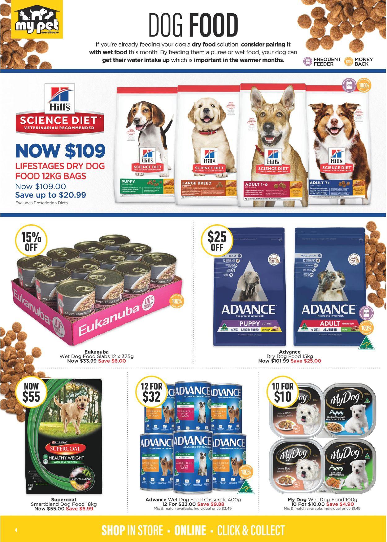 My Pet Warehouse Catalogue - 24/02-29/03/2020 (Page 4)