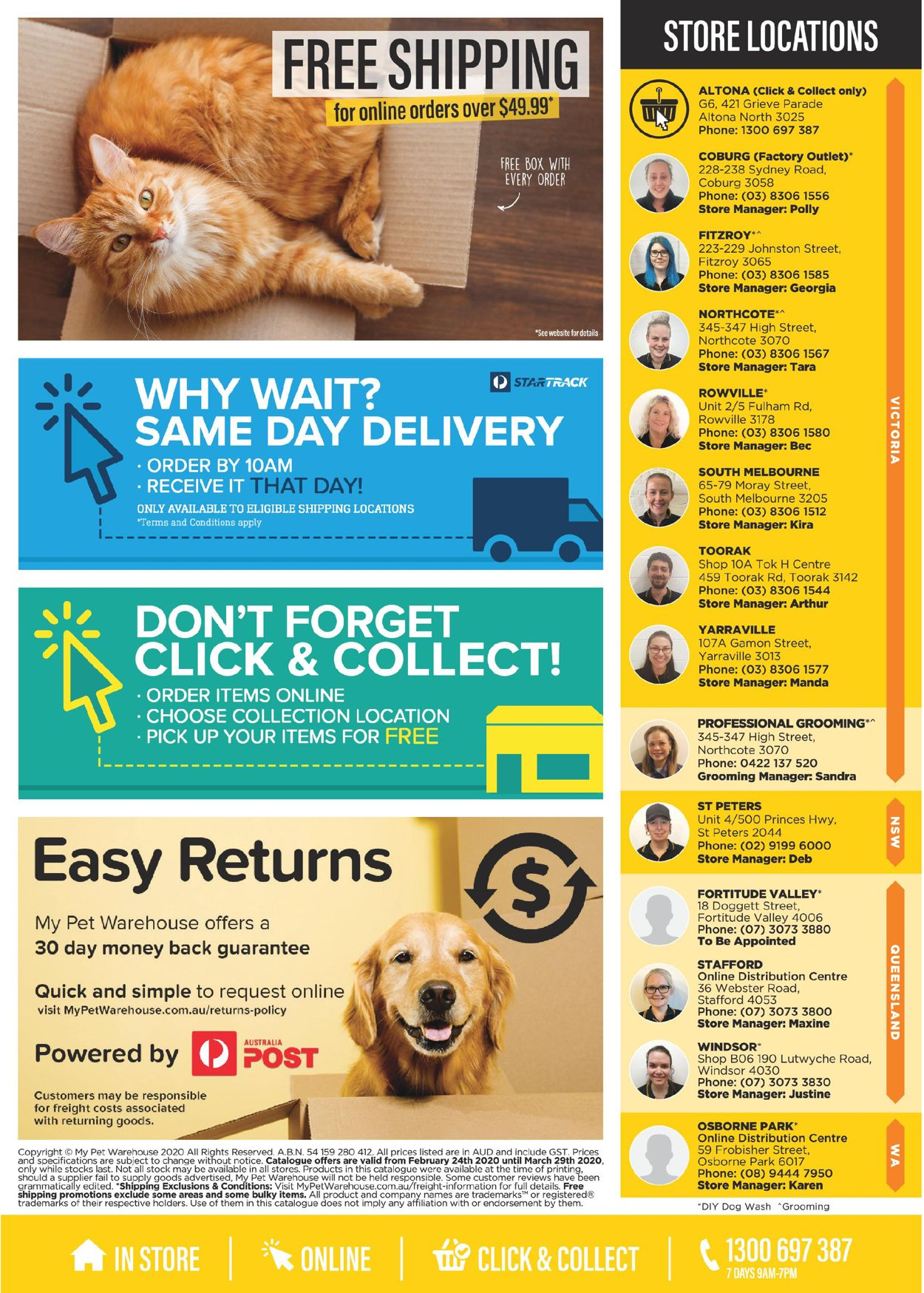 My Pet Warehouse Catalogue - 24/02-29/03/2020 (Page 16)