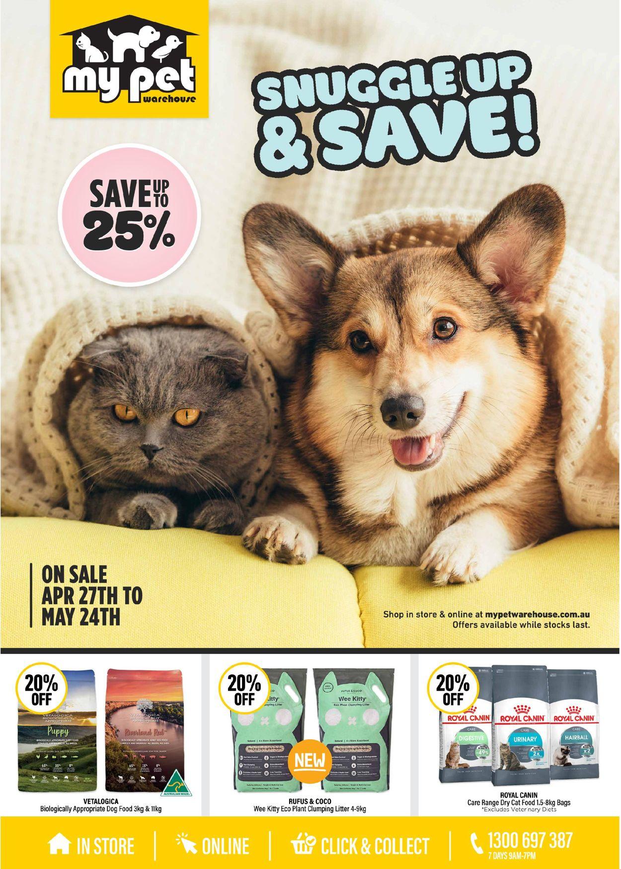 My Pet Warehouse Catalogue - 27/04-24/05/2020
