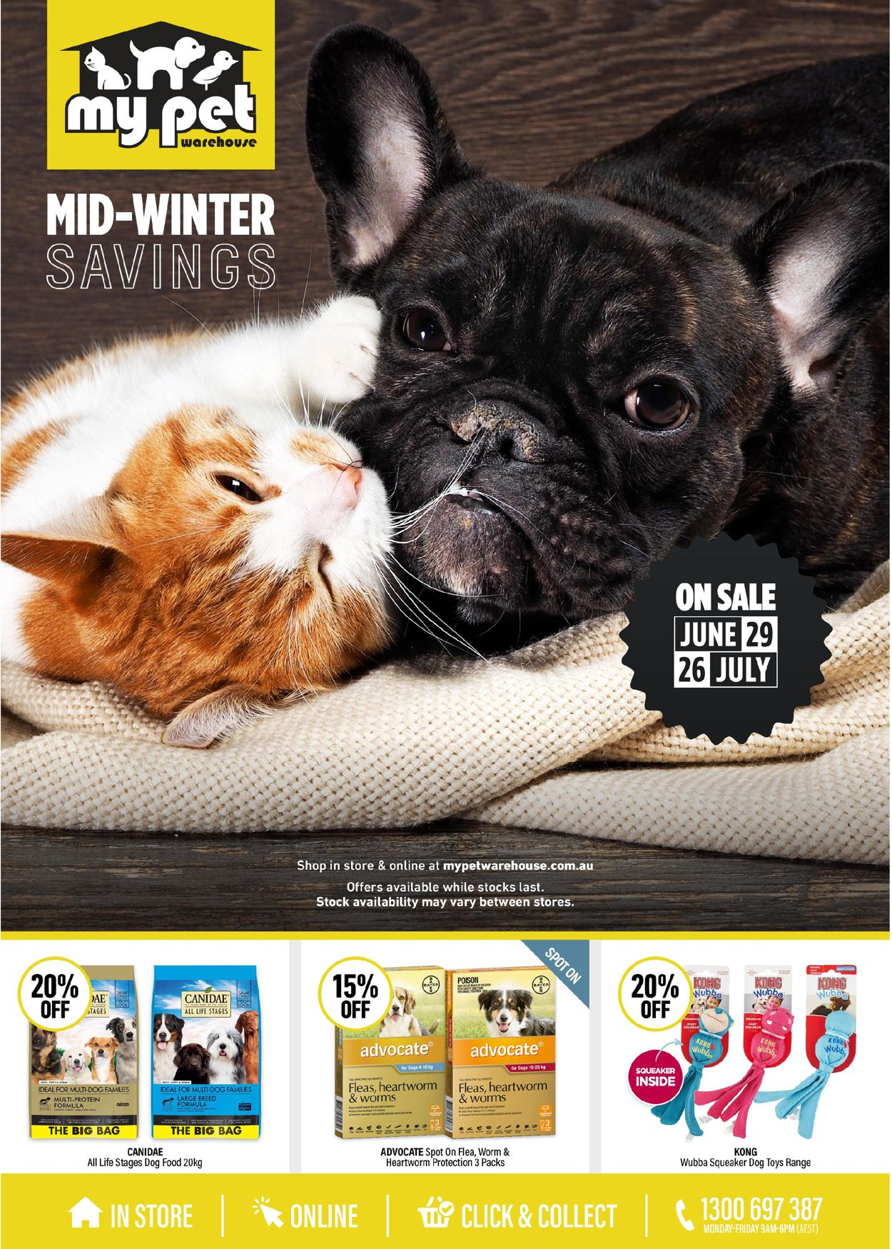 My Pet Warehouse Catalogue - 29/06-26/07/2020