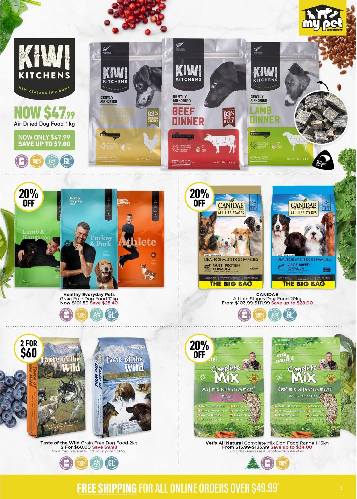 My Pet Warehouse Catalogue - 29/06-26/07/2020 (Page 3)